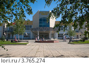 """Купить «Дворец спорта """"Лобня""""», эксклюзивное фото № 3765274, снято 17 июня 2012 г. (c) Pukhov K / Фотобанк Лори"""
