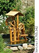 Фрагмент летнего сада (фонтан - мельник) Стоковое фото, фотограф Жакова Дарья / Фотобанк Лори
