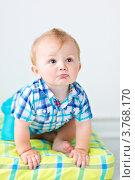Милый маленький мальчик. Стоковое фото, фотограф Екатерина Штерн / Фотобанк Лори