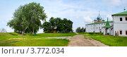 Купить «Панорама Суздаля, территория монастыря», фото № 3772034, снято 22 сентября 2019 г. (c) ElenArt / Фотобанк Лори