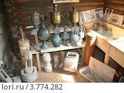 Купить «Кухонная утварь прошлых веков», фото № 3774282, снято 11 августа 2012 г. (c) Александр Бутенко / Фотобанк Лори