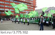 Купить «Молодежь на митинге», видеоролик № 3775102, снято 4 марта 2012 г. (c) Losevsky Pavel / Фотобанк Лори