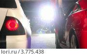Купить «Два спортивных автомобиля», видеоролик № 3775438, снято 16 января 2012 г. (c) Losevsky Pavel / Фотобанк Лори