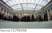 Купить «Гости на церемонии награждения победителей премии Брэнд года EFFIE 2011, таймлапс», видеоролик № 3779918, снято 27 мая 2012 г. (c) Losevsky Pavel / Фотобанк Лори