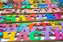 """Таблички со словом """"Счастье"""" на прилавке, эксклюзивное фото № 3780070, снято 26 августа 2012 г. (c) Николай Винокуров / Фотобанк Лори"""