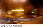 Купить «Автобус едет по ночной улице Гран Виа, Мадрид, таймлапс», видеоролик № 3780830, снято 19 апреля 2012 г. (c) Losevsky Pavel / Фотобанк Лори