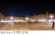 Купить «Памятник королю Филиппу III в Мадриде, таймлапс», видеоролик № 3781214, снято 20 апреля 2012 г. (c) Losevsky Pavel / Фотобанк Лори