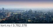 Ночной город (2012 год). Стоковое фото, фотограф Антон Жигаев / Фотобанк Лори