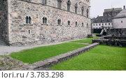 Купить «Hokonskhallen - комплекс средневековых зданий», видеоролик № 3783298, снято 5 мая 2012 г. (c) Losevsky Pavel / Фотобанк Лори