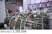 Купить «Двигатель вертолета», видеоролик № 3785094, снято 30 июля 2012 г. (c) Losevsky Pavel / Фотобанк Лори