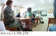 Купить «Родители присутствуют на родительском собрании (таймлапс)», видеоролик № 3785218, снято 29 мая 2012 г. (c) Losevsky Pavel / Фотобанк Лори
