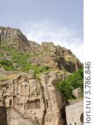 Купить «Монастырский комплекс Гегард. Провинция Котайк, Армения», фото № 3786846, снято 23 июня 2012 г. (c) Papoyan Irina / Фотобанк Лори