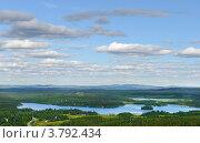 Купить «Северные просторы и тяжелые низкие облака», фото № 3792434, снято 23 июля 2012 г. (c) Валерия Попова / Фотобанк Лори