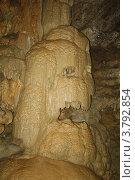 """Сталагнат """"Череп"""" в Новоафонской пещере. Стоковое фото, фотограф Дмитрий К / Фотобанк Лори"""