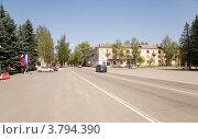 Центральная площадь, Нелидово (2012 год). Редакционное фото, фотограф Вячеслав Потапов / Фотобанк Лори