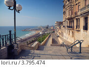 Купить «Испанский морской порт», фото № 3795474, снято 27 сентября 2009 г. (c) Дмитрий Кутлаев / Фотобанк Лори