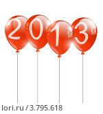 Купить «Новогодние шарики 2013», иллюстрация № 3795618 (c) Евгения Малахова / Фотобанк Лори