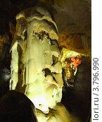 Купить «В пещере Мраморная, Крым», фото № 3796990, снято 24 июня 2012 г. (c) Ельцов Владимир / Фотобанк Лори