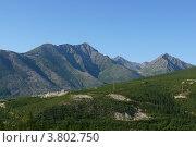 Северомуйский хребет. Стоковое фото, фотограф Алина Сысоева / Фотобанк Лори