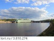 Волховская ГЭС. Стоковое фото, фотограф Валерий Никитин / Фотобанк Лори