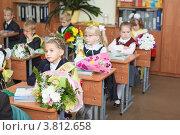 Дети в школе. 1 сентября (2012 год). Редакционное фото, фотограф Кекяляйнен Андрей / Фотобанк Лори