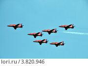 Красные истребители. Редакционное фото, фотограф Екатерина Слугина / Фотобанк Лори