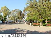 Купить «Приморский бульвар, Севастополь, Крым», эксклюзивное фото № 3823894, снято 30 апреля 2012 г. (c) Rekacy / Фотобанк Лори