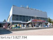 Дворец культуры Современник, город Ангарск (2012 год). Редакционное фото, фотограф Виталий Штырц / Фотобанк Лори