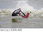Купить «Чемпионат России по аквабайку», фото № 3835430, снято 23 июля 2006 г. (c) Георгий Грушин (Photo-classic) / Фотобанк Лори