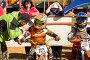 Спортсмены на мотоциклах участвуют в соревнованиях по Кантри Кроссу, эксклюзивное фото № 3840030, снято 8 сентября 2012 г. (c) Николай Винокуров / Фотобанк Лори