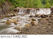 Купить «Плотина на лесной речке», фото № 3842302, снято 17 мая 2009 г. (c) Никончук Алексей / Фотобанк Лори