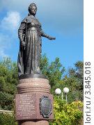 Купить «Памятник Екатерине II в Севастополе», фото № 3845018, снято 17 августа 2012 г. (c) Stockphoto / Фотобанк Лори