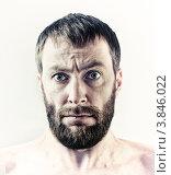 Бородатый мужчина. Стоковое фото, фотограф Виктор Застольский / Фотобанк Лори