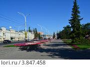 Город Тамбов. Улица Советская (2012 год). Редакционное фото, фотограф Елена Ермохина / Фотобанк Лори