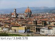 Вид на Флоренцию, Италия. Стоковое фото, фотограф Felix Bensman / Фотобанк Лори