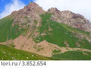 Горный пейзаж. Казахстан. Стоковое фото, фотограф Антон Жигаев / Фотобанк Лори