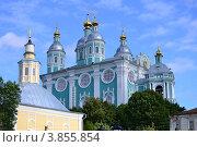Свято-Успенский кафедральный собор, г. Смоленск (2012 год). Стоковое фото, фотограф Виталий Калинин / Фотобанк Лори