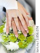 Руки новобрачных. Свадьба. Стоковое фото, фотограф Sasha Snegireva / Фотобанк Лори