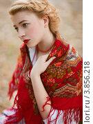 Купить «Русская красавица», фото № 3856218, снято 12 сентября 2012 г. (c) Алена Роот / Фотобанк Лори