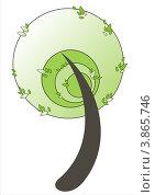 Дерево. Стоковая иллюстрация, иллюстратор Ольга Нигаматулина / Фотобанк Лори