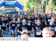 Купить «VIII благотворительный забег RUN ASICS KRASNODAR», фото № 3871002, снято 8 сентября 2012 г. (c) WalDeMarus / Фотобанк Лори