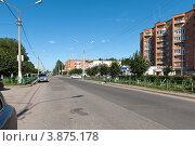 Вид на Советскую улицу, город Тосно (2012 год). Редакционное фото, фотограф Андрей Небукин / Фотобанк Лори