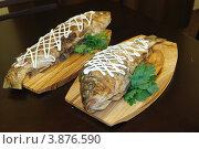 Жареная рыба. Стоковое фото, фотограф Бугаенко Татьяна / Фотобанк Лори