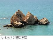 Купить «Залив Афродиты (Кипр)», фото № 3882702, снято 31 мая 2012 г. (c) Хименков Николай / Фотобанк Лори