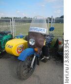 Купить «Мотоцикл Милиция СССР - ГАИ», фото № 3883954, снято 12 августа 2012 г. (c) Игорь Кротов / Фотобанк Лори