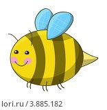 Купить «Забавная пчела», иллюстрация № 3885182 (c) Евгения Малахова / Фотобанк Лори