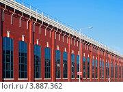 Стена заводского цеха (Престон, Великобритания) (2010 год). Стоковое фото, фотограф Василий Фирсов / Фотобанк Лори