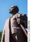 Купить «Памятник В.И.Ленину, Ахтубинск», эксклюзивное фото № 3888058, снято 1 октября 2012 г. (c) katalinks / Фотобанк Лори