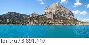Купить «Новый Свет и гора Сокол. Крым», фото № 3891110, снято 28 июня 2012 г. (c) Антон Стариков / Фотобанк Лори
