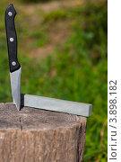 Нож и точильный камень. Стоковое фото, фотограф Дмитрий Ворона / Фотобанк Лори